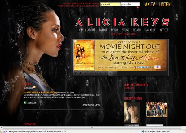 http://www.aliciakeys.com/?em14=1638_-1__0_~0_-1_11_2008_0_0&content=news