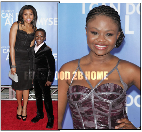Taraji P. Henson with Kwesi Boakye + Hope Olaide Wilson