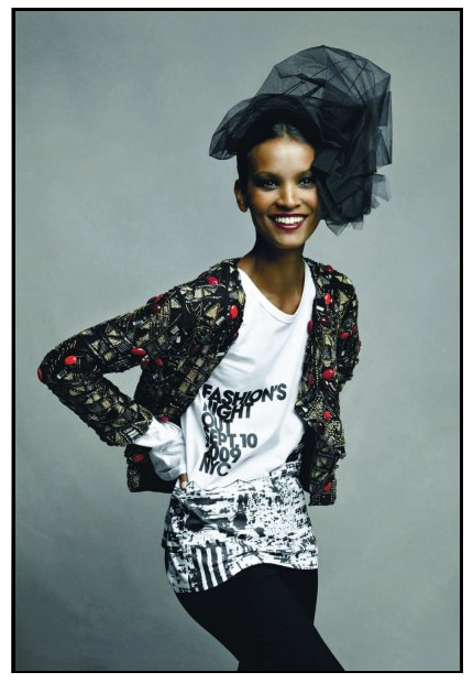 LIYA KEBEDE FOR FASHION'S NIGHT OUT